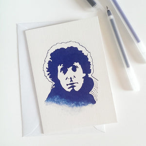 Tom Baker, Doctor Who, The Golden Voyage of Sinbad, Greetings Card