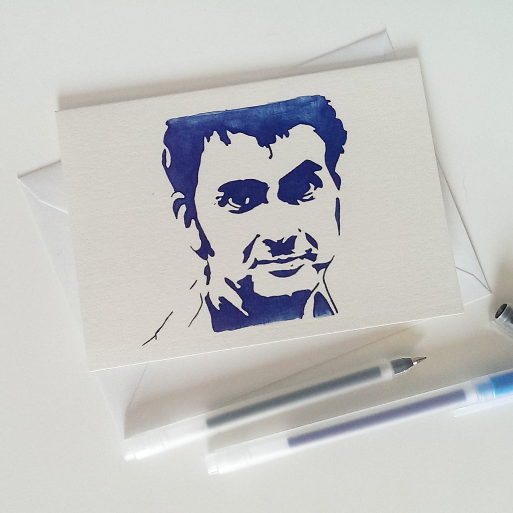David Tennant,  Doctor Who, Broadchurch, Harry Potter, How to train your dragon, Greetings Card - ByCandlelight27