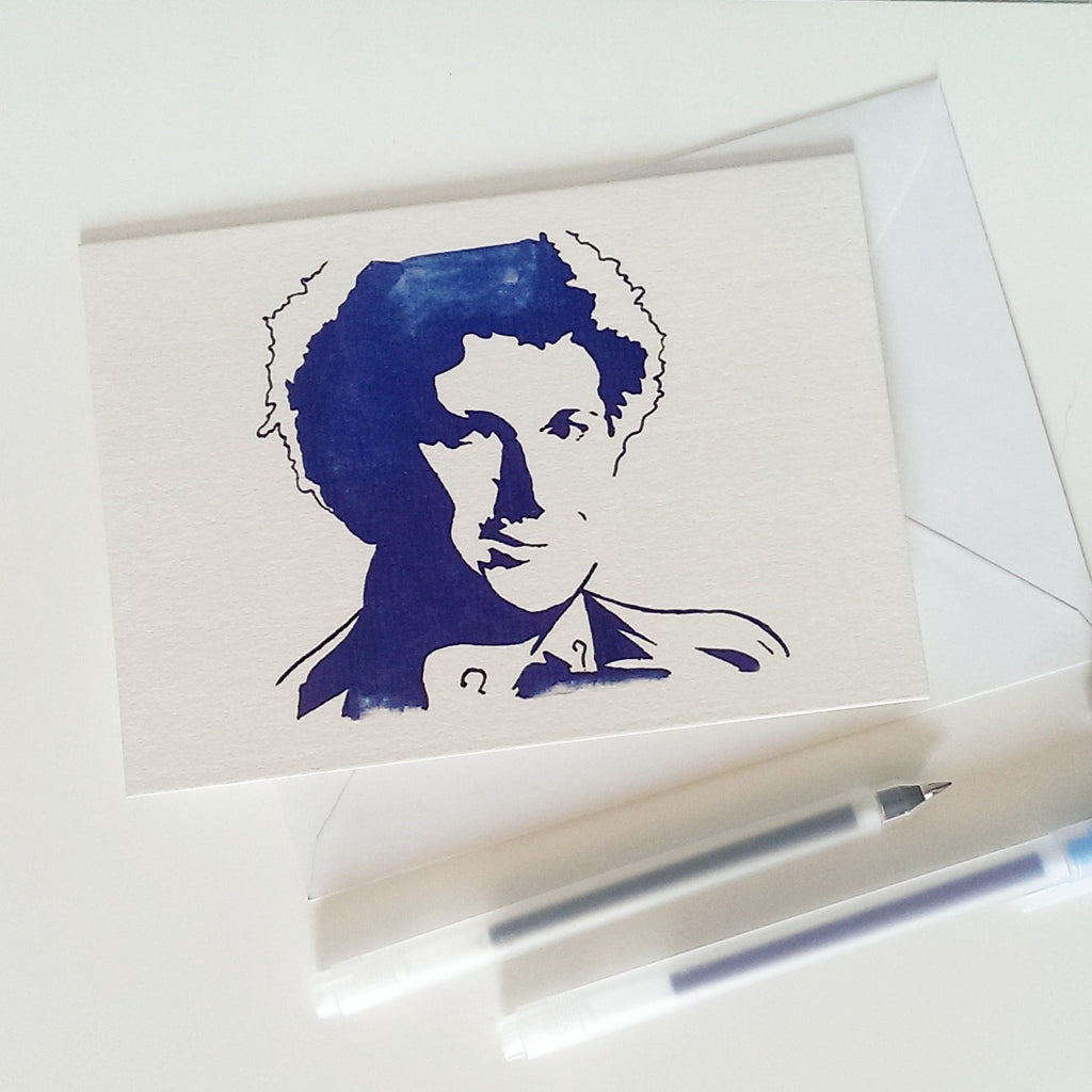 Colin Baker,  Dr Who Card - ByCandlelight27