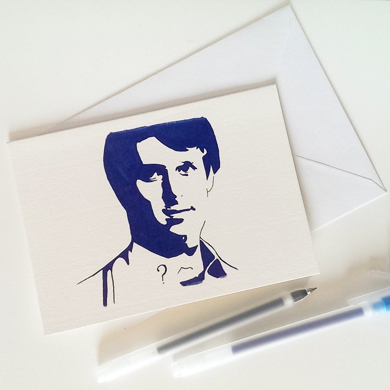 Peter Davidson, Dr Who Card - ByCandlelight27