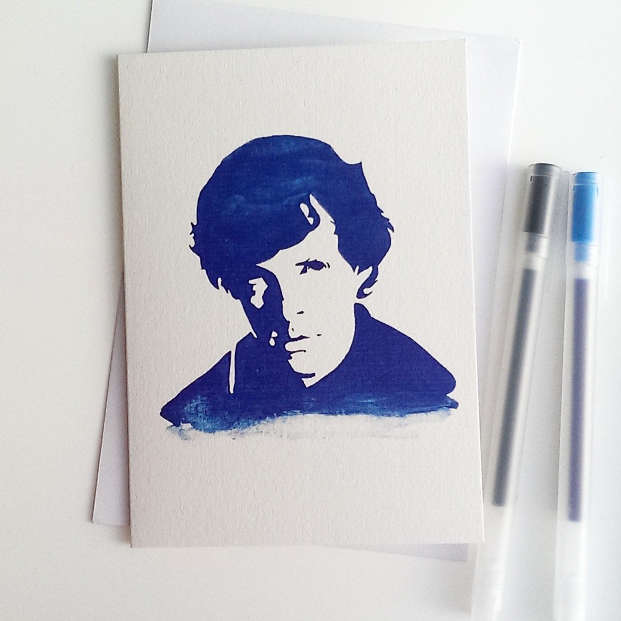 Benedict Cumberbatch, Sherlock Holmes, Star Trek, War Horse, Greetings Card - ByCandlelight27