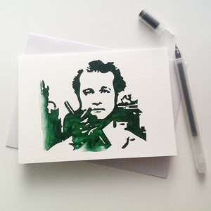 Bill Murray, Peter Venkman, ghostbusters Card - ByCandlelight27