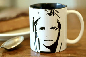 Buffy The Vampire Slayer, Sarah Michelle Gellar, Hand Painted Cup, Hand Printed Cup - ByCandlelight27