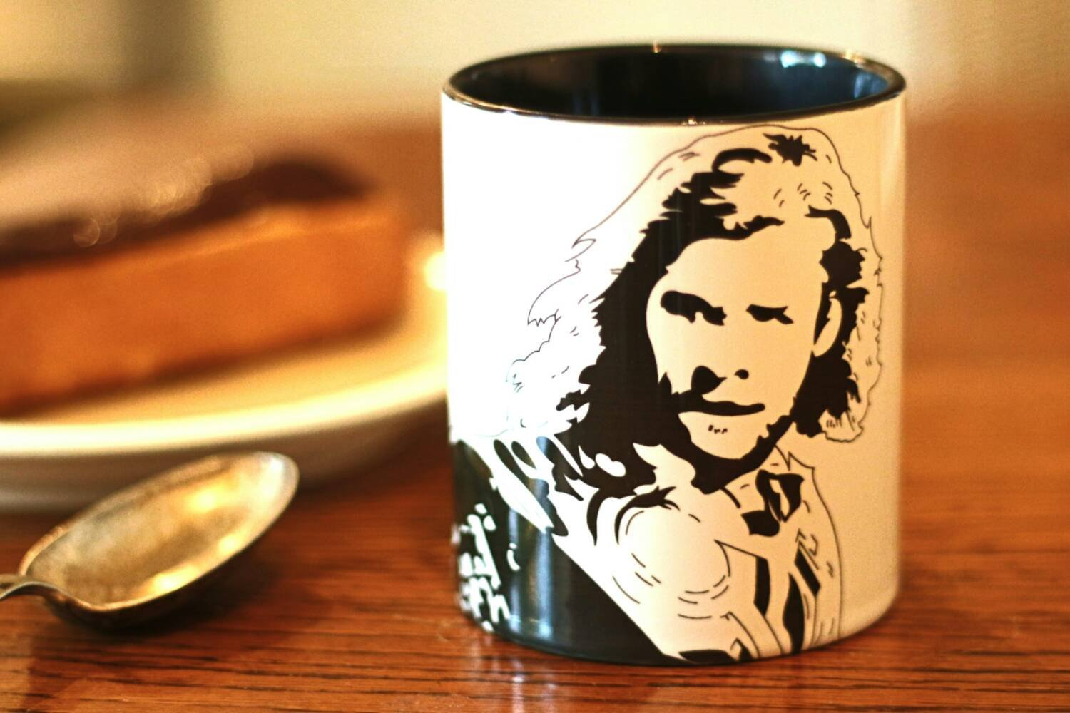 Chris Hemsworth Hand crafted Cup - ByCandlelight27