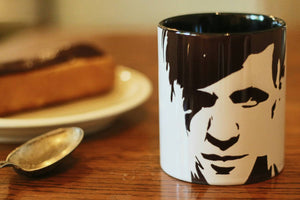 Matt Smith, Doctor Who, 11th Doctor, Hand Painted, Hand Printed Cup - ByCandlelight27