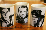 Bill Murray, Peter Venkman, Ghostbusters, Hand Painted, Hand Printed, Cup - ByCandlelight27