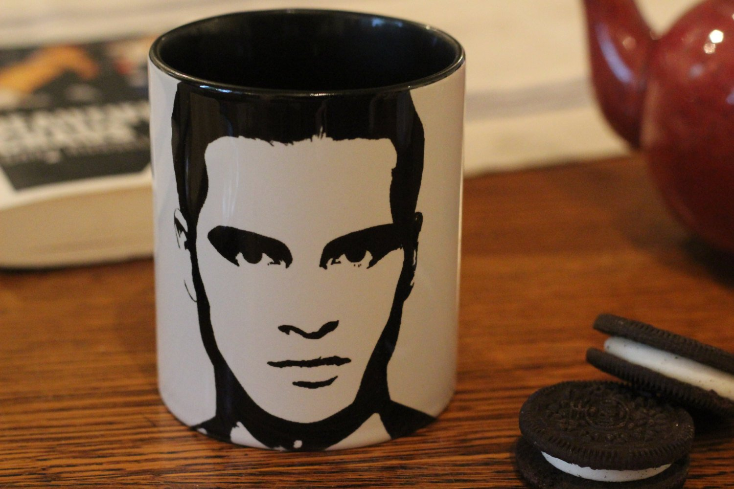 Michael Malarkey - The Vampire Diaries - The Originals - TVD - Enzo - Hand Printed Mug