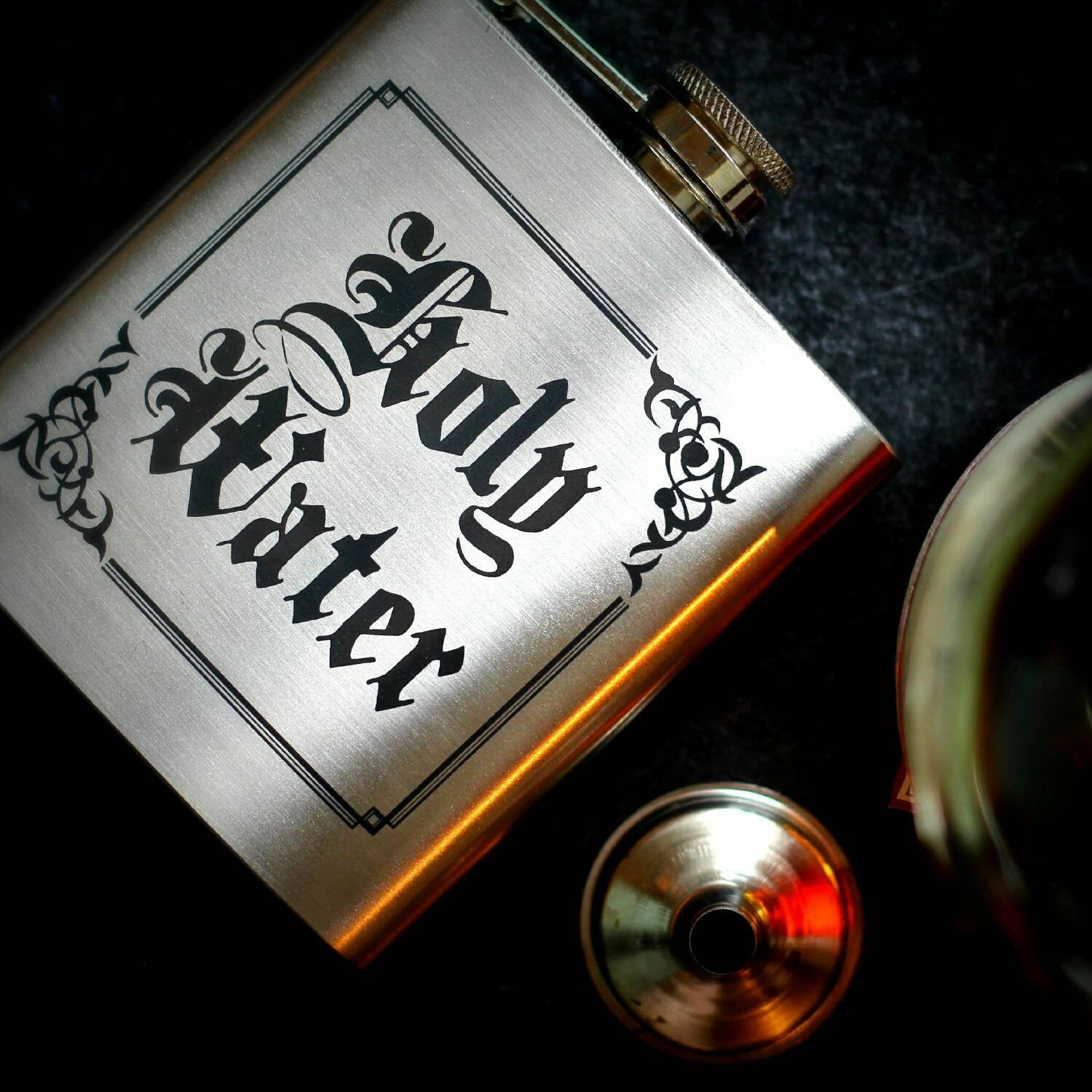 Holy Water Hip Flask, Supernatural Inspired, Drinking Flask