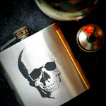 Anatomical Skull Hip Flask, Drinking Flask - ByCandlelight27