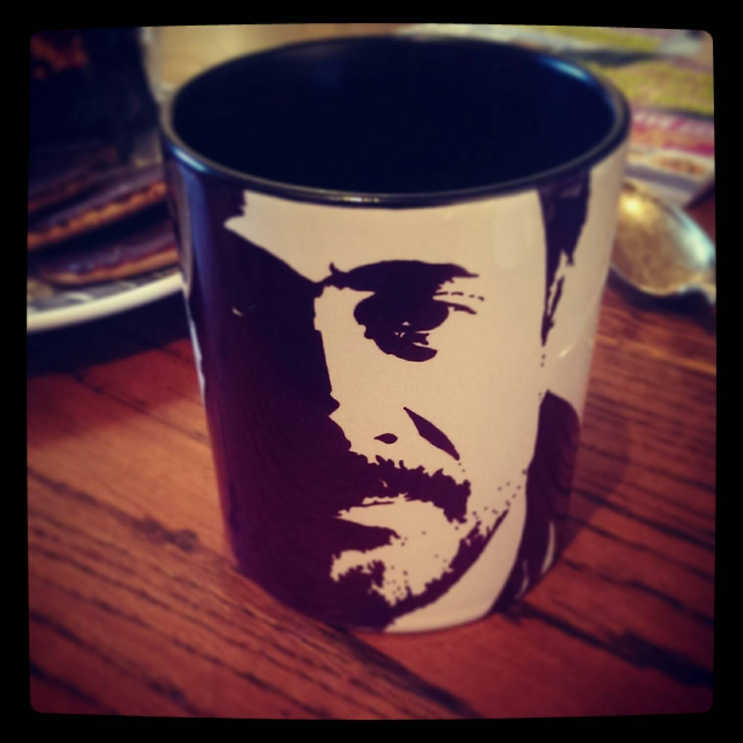Jeffrey Dean Morgan - Supernatural - Watchmen - Grey's Anatomy - Hand Printed Cup - ByCandlelight27