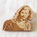 Limited Edition - Chris Hemsworth - Thor - Engraved Brooch - Key Ring - ByCandlelight27
