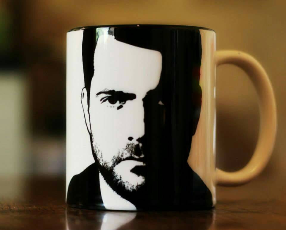 Joshua Jackson - Peter Bishop - Fringe - The Affair - Dawson's Creek - Hand Printed cup - ByCandlelight27