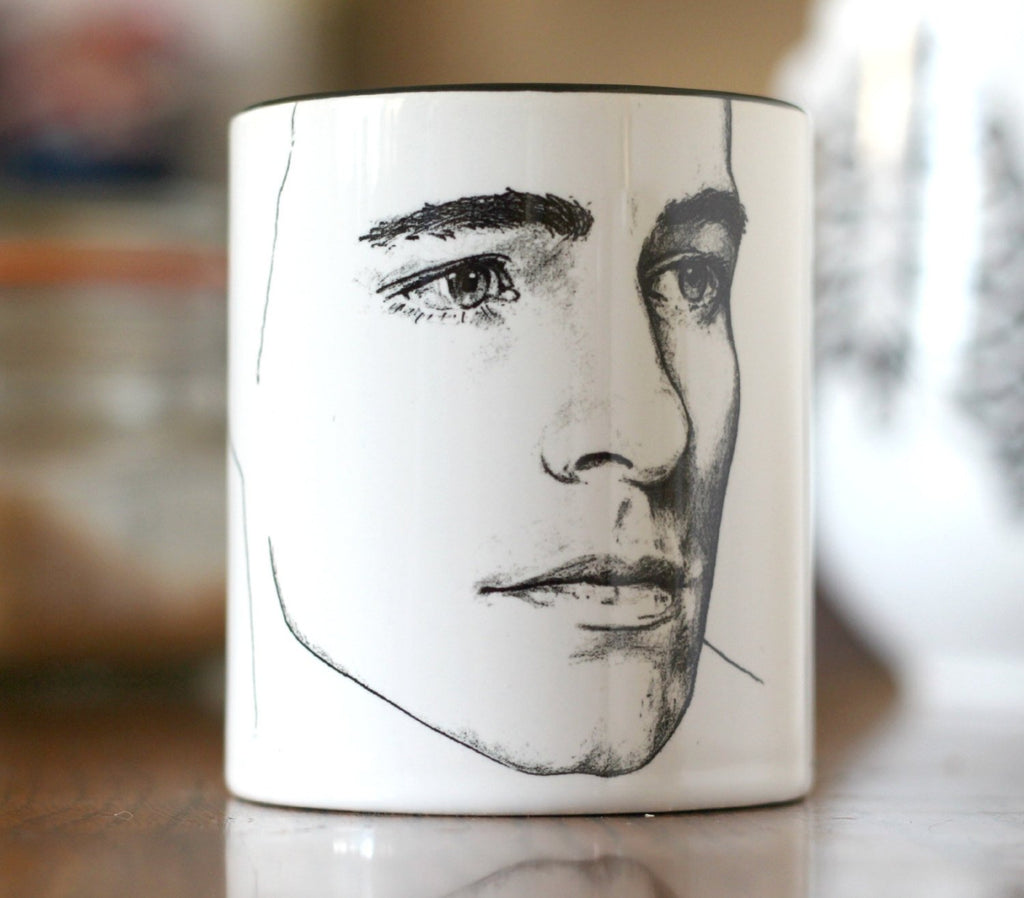 Limited Edition, Colton Haynes, Arrow, Green Arrow, Roy Harper, Teen Wolf, San Andreas, hand printed Cup - ByCandlelight27