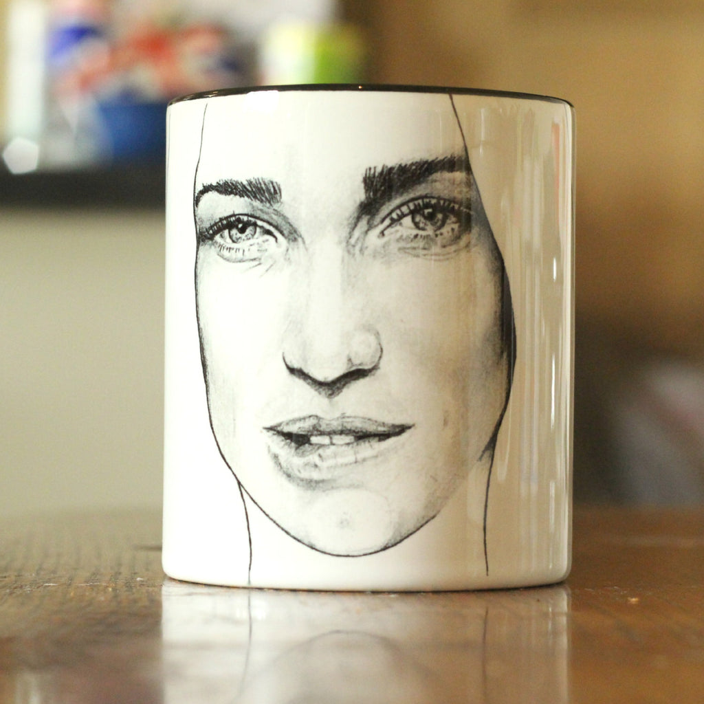 Caity Lotz - Limited Edition -Arrow - Green Arrow - Black Canary - The Canary - Legends of Tomorrow - hand printed Cup - ByCandlelight27