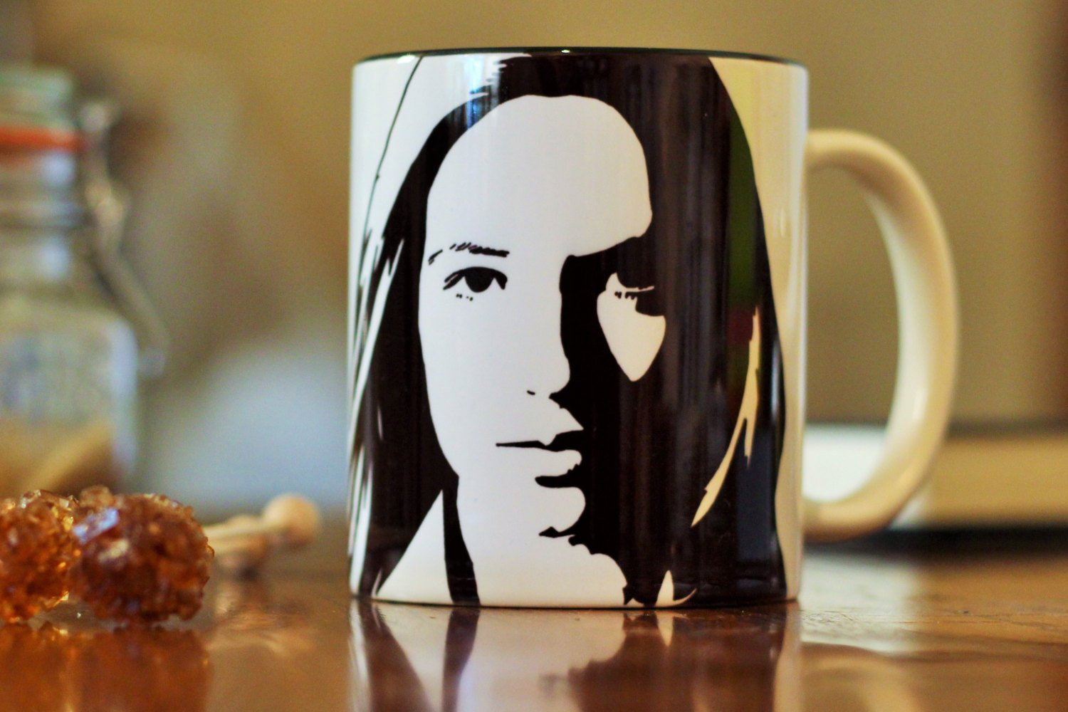 Anna Torv - Fringe Hand Printed cup - ByCandlelight27