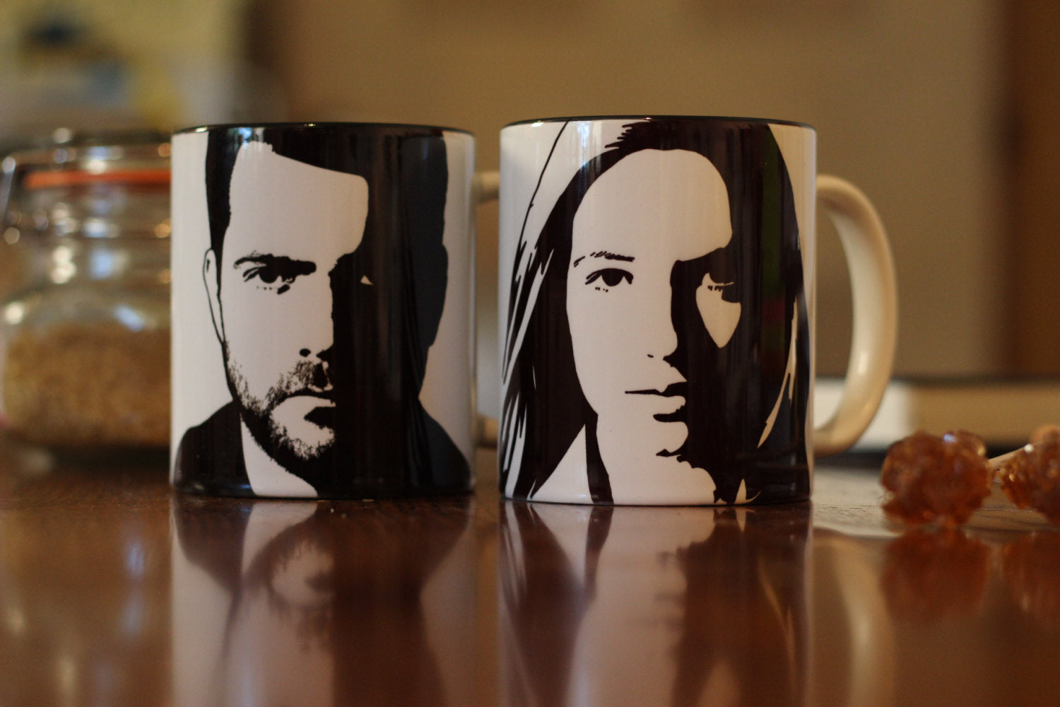 Anna Torv, Fringe, Olivia Dunham, Heavenly sword, love is now , Hand Printed cup