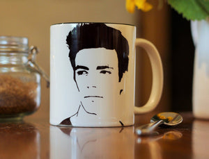 Grant Gustin, The Flash, Barry Allen, Glee, A mothers nightmare, Hand Printed cup. - ByCandlelight27