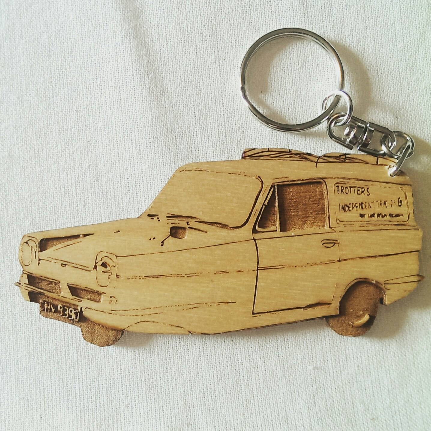 Limited Edition - Only Fools and Horses - Fritters Independent Traders - Reliant Robin 3 Wheeled van - ByCandlelight27