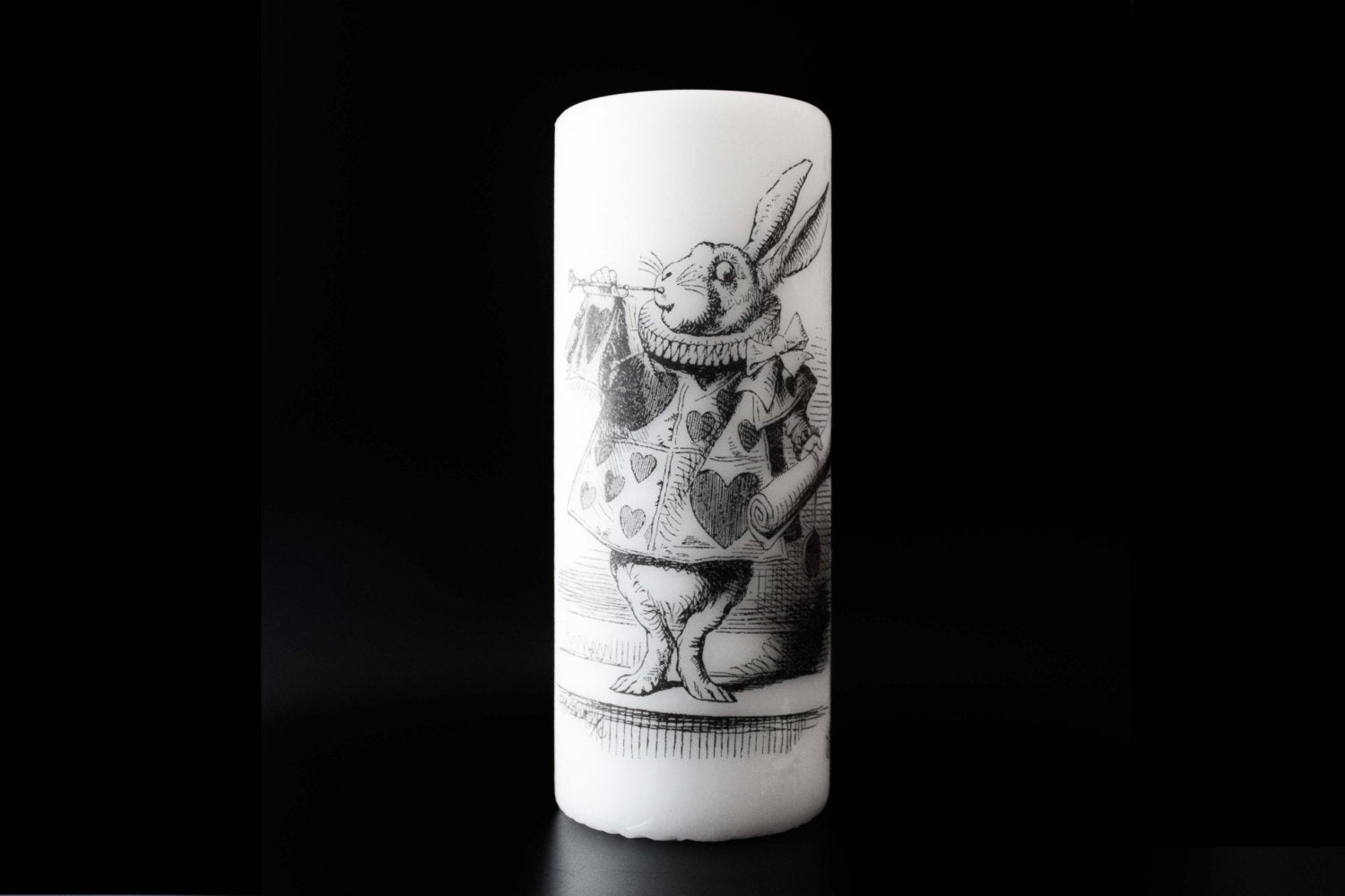 Alice in wonderland - Growing Alice - Pillar Candle - Whimsical Decor - ByCandlelight27