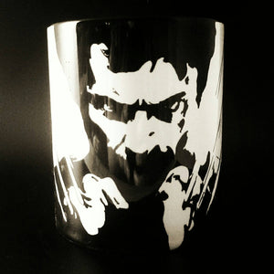Hugh Jackman - Wolverine - Hand Printed Cup - ByCandlelight27