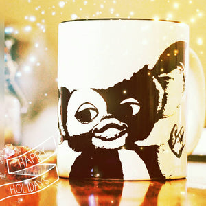 Gizmo - Gremlins - Printed cup - ByCandlelight27
