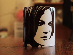 Lana Parrilla - Rigina Mills - Evil Witch - Once Upon A Time -Portrait Mug - ByCandlelight27