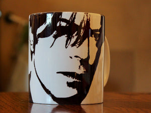 David Bowie - Silhouette Portrait - Hand Printed Cup - ByCandlelight27