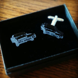 67' Chevy Impala - Supernatural - Classic Car - Cufflinks - ByCandlelight27