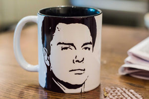 John Barrowman - Captain Jack Harkness - Torchwood - Arrow - Doctor Who - Hand Printed Cup - ByCandlelight27
