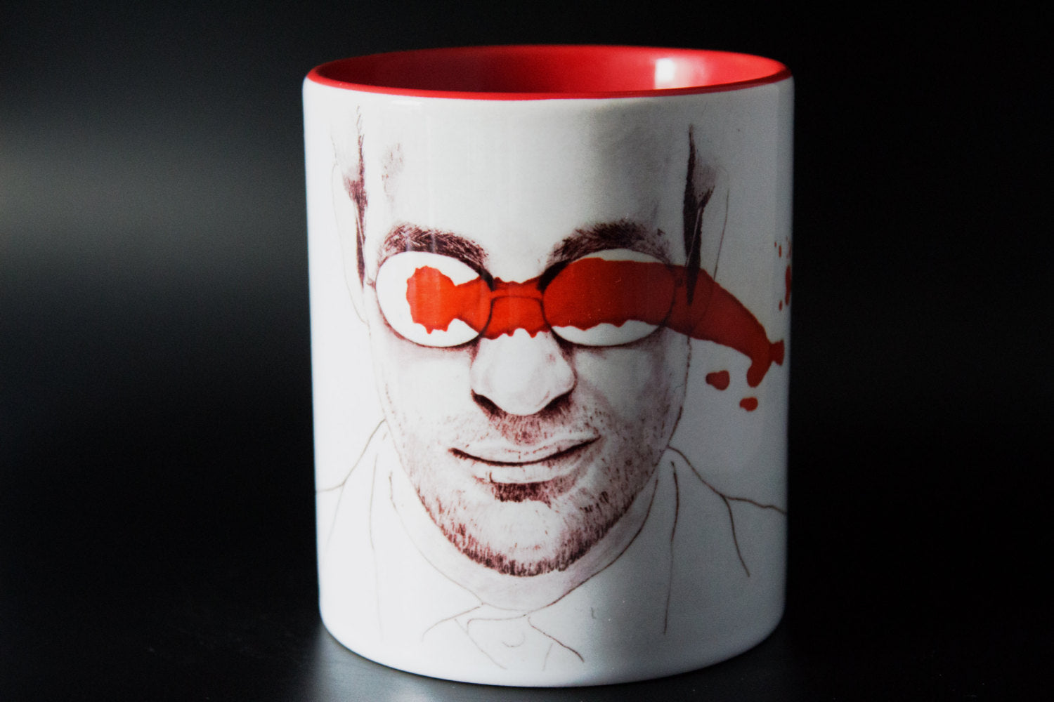 Nelson and Murdock - Daredevil - Hand Crafted - Printed Cup - ByCandlelight27