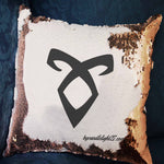 Shadowhunters Rune - Hidden Message Cushion - ByCandlelight27