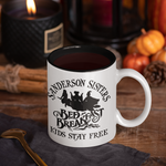 Sanderson Sisters Bed and breakfast Inspired - Hand Crafted Cup