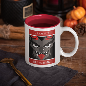 Krampus is Coming - Hand Crafted Cup