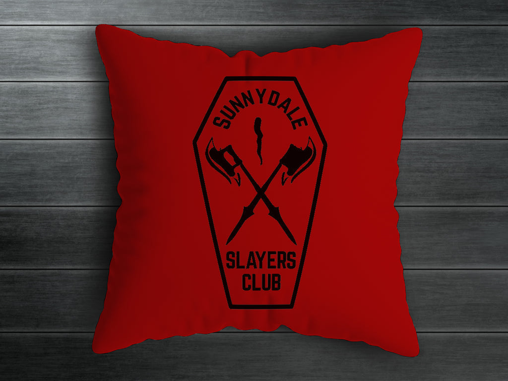 Slayers Club Handmade Cushion