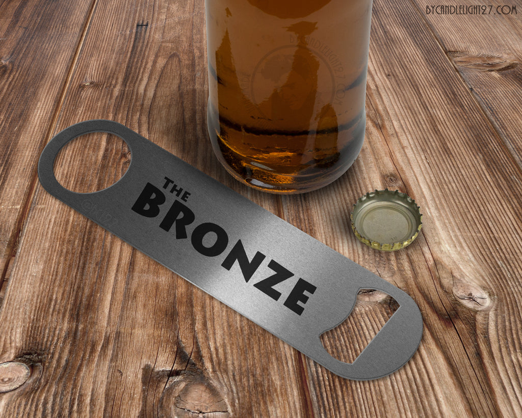 The Bronze Buffy - Bar Blade Bottle Opener - ByCandlelight27