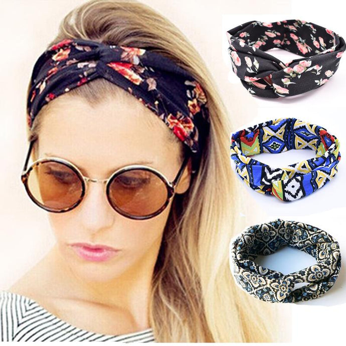 Headband summer chic