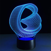 Load image into Gallery viewer, Lamps @ Seasonal Hub 3D Abstract Ring Lamp