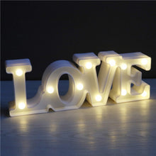 Load image into Gallery viewer, Lamps @ Seasonal Hub LED LOVE Sign