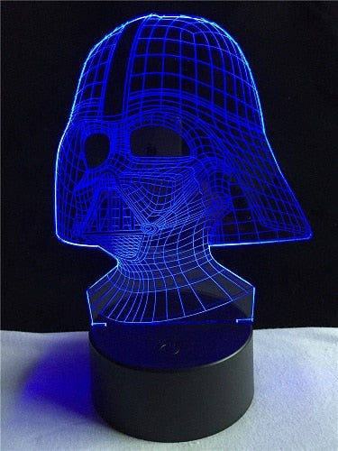 Lamps @ Seasonal Hub 3D Darth Vader