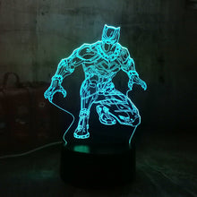Load image into Gallery viewer, Lamps @ Seasonal Hub 3D Black Panther