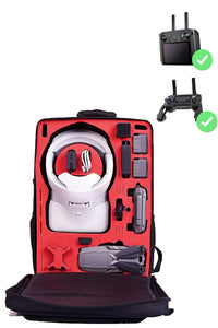 MC-CASES® Transport Rucksack für DJI Mavic 2 & DJI Goggles & Smart Remote Controller