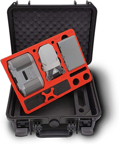 MC-CASES® Custodia per DJI Mini 2 e accessori - Explorer Edition per il Fly More Combo - Made in Germany