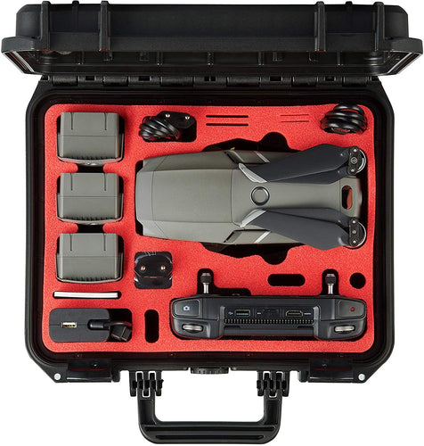 Custodia MC-CASES® per DJI Mavic 2 Pro/Zoom e DJI Smart Controller - Edizione compatta - Made in Germany - Estremamente stabile
