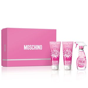 Moschino Pink Fresh Couture  | 3 Piece Gift Set EDT