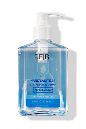 REBL Hand Sanitizer | Moisturizing Aloe Vera | 236 ml.