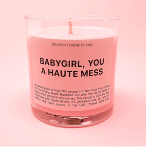 HAUTE MESS | Scented Candle