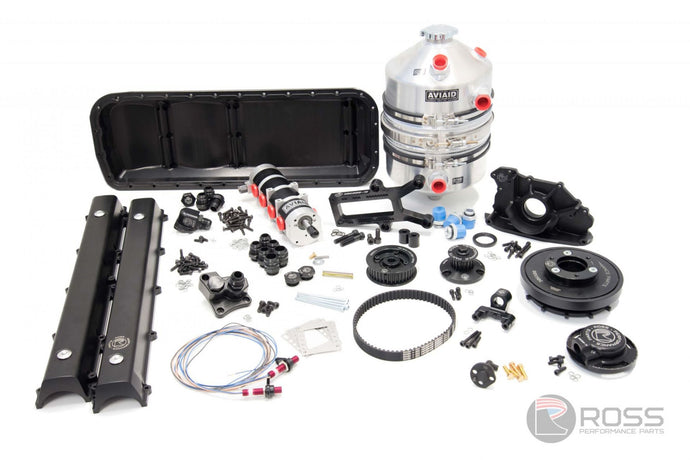 Ross Performance Parts Nissan RB RWD Dry Sump Oil System with Trigger Kit