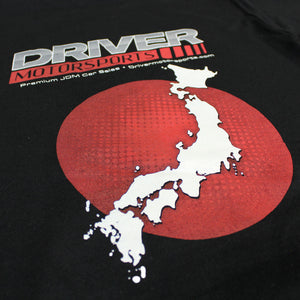 Driver Motorsports RX7 Mens T-Shirt in Black
