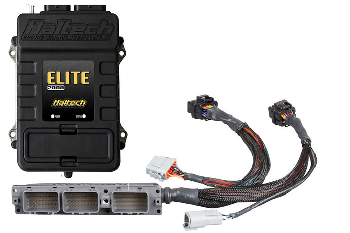 Haltech Elite 2000 + Toyota Supra JZA80 2JZ (non VVTi) Plug 'n' Play Adaptor Harness Kit