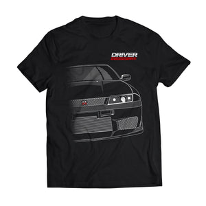 Driver Motorsports GTR Mens T-Shirt in Black
